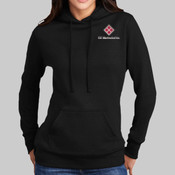 LPC78H.ise - Ladies Core Fleece Pullover Hooded Sweatshirt