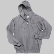 PC90ZH.ise - Ultimate Full Zip Hooded Sweatshirt